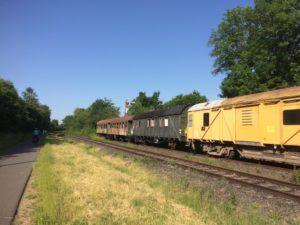 Treinen bij de Vennbahn